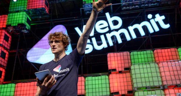 Paddy Cosgrave Web summit - Oficial: Web Summit fica em Portugal pelo menos até 2028