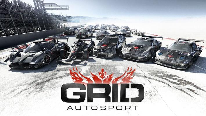 Nintendo switch GRID Autosport actualizações actualização