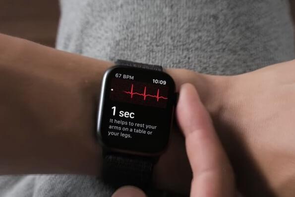 Apple Watch sangue