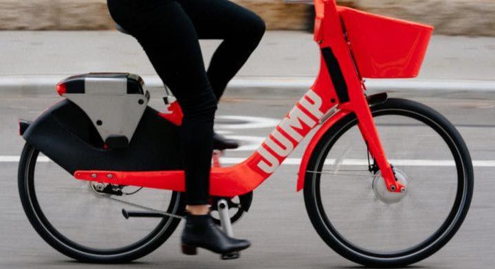 uber jump lisboa 720x391 - Uber lança as bicicletas elétricas dockless JUMP em Lisboa