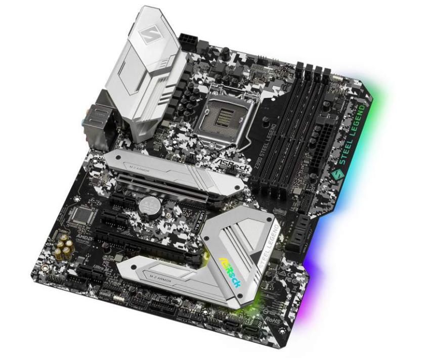 Asrock Z390 Steel Legend 2 - ASRock lança a motherboard Z390 Steel Legend