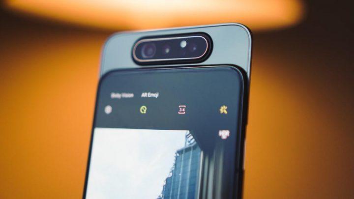 Samsung Galaxy A80 720x405 - Samsung anuncia o Galaxy A80 com câmara rotativa