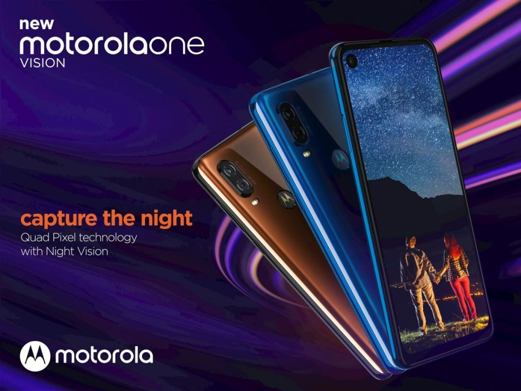 Motorola One Vision - Motorola One Vision é agora oficial e promete revolucionar alguns mercados