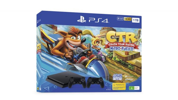 PlayStation Crash Team Racing 1 720x405 - PlayStation apresentou dois bundles com Crash Team Racing Nitro-Fueled
