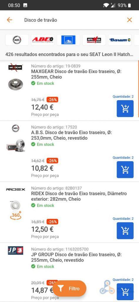 Screenshot 20190516 085006 - Existe aplicações para quase tudo, e para comprar peças para automóvel?