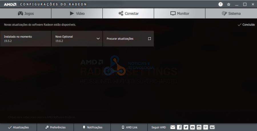Radeon Software 19.6.2 - AMD lança o driver Radeon Software 19.6.2 que chega com mais suporte a extensões Vulkan