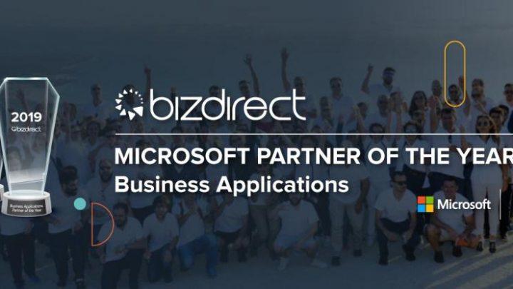 Bizdirect Partner of the Year Business Applications 720x405 - Bizdirect volta a ser nomeada parceiro do ano da Microsoft em CRM