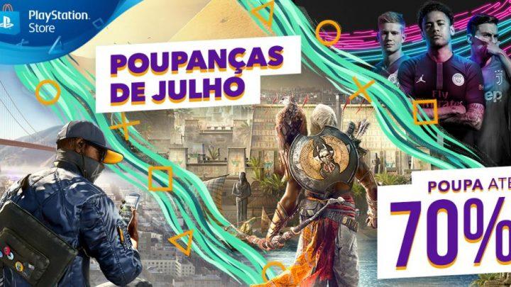 """Poupanças de julho PlayStation Store 720x405 - PlayStation Store: Campanha """"Poupanças de julho"""" com promoções imperdíveis"""