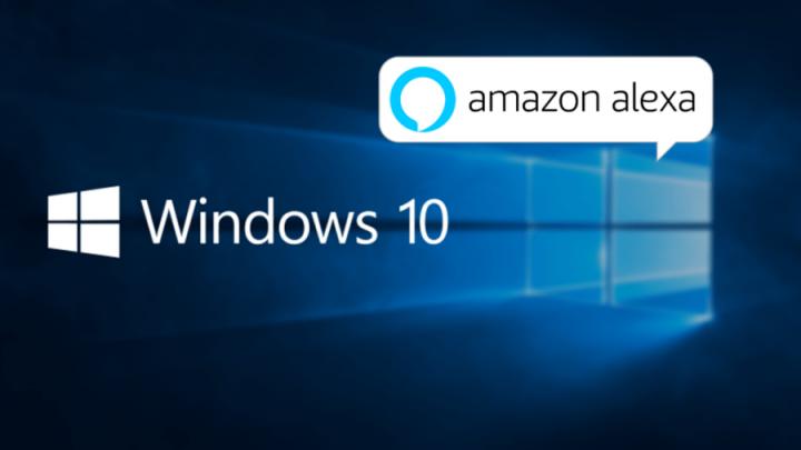 Windows 10 Alexa 2 720x405 - Microsoft prepara-se para integrar assistentes de voz de terceiros no Windows 10
