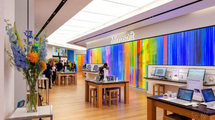 loja microsoft 1 720x405 - Microsoft abre a sua primeira loja na Europa
