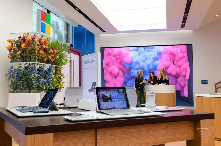 loja microsoft 2 - Microsoft abre a sua primeira loja na Europa