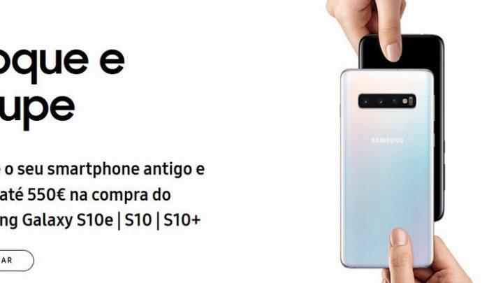 retomas samsung 720x405 - Interessado num Galaxy S10? Samsung dá até €550 pelo teu telefone antigo