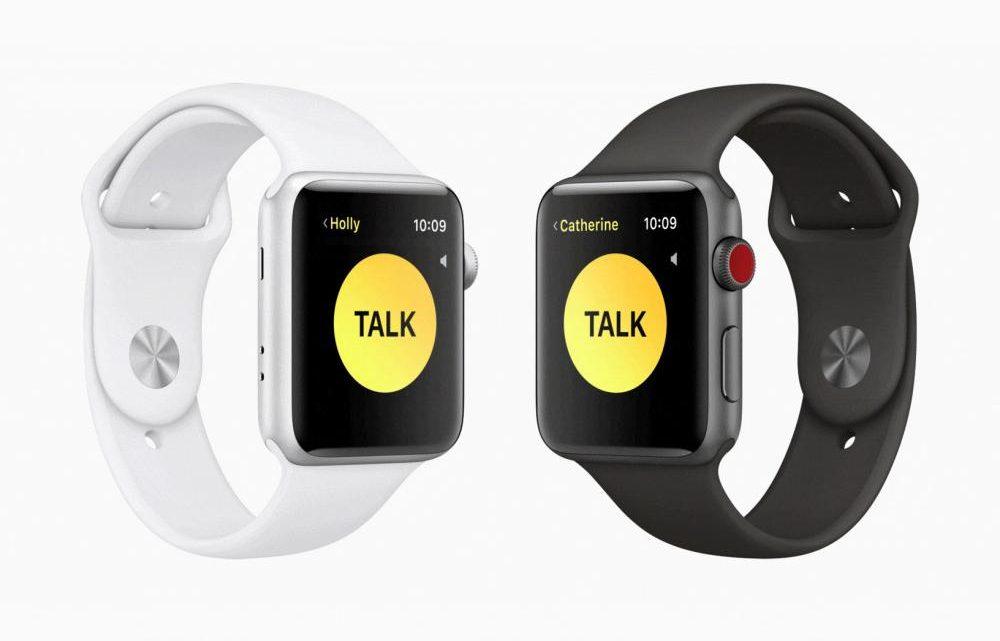 walkie talkie 1000x641 - Recurso walkie-talkie do Apple Watch temporariamente desactivado