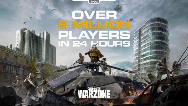 Warzone 6 milhões