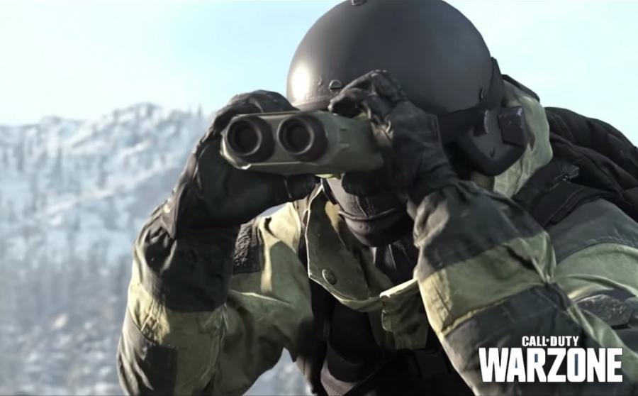Warzone mapa
