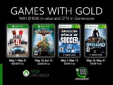 Xbox Games With Gold Maio 2020