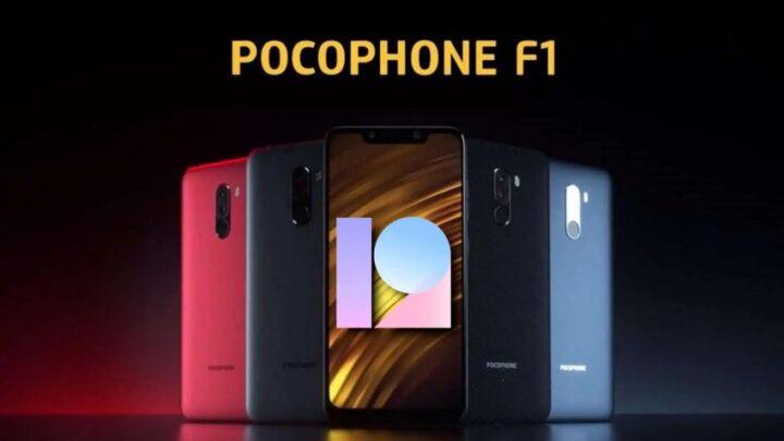 MIUI 12 Pocophone F1 Poco F