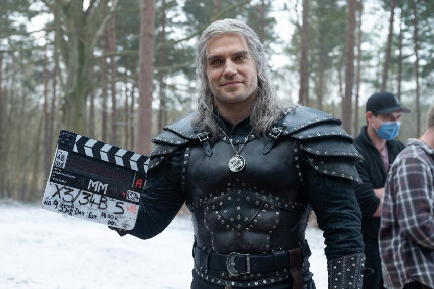The Witcher filmagens