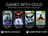 Xbox Games With Gold Maio