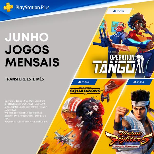 PlayStation Plus Junho