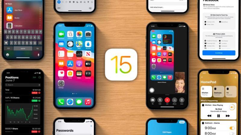 Beta 4 para iOS 15
